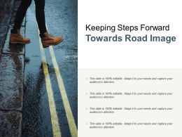 Keeping Steps Forward Towards Road Image