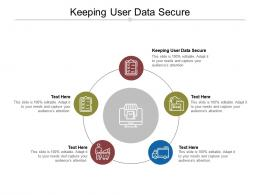 Keeping User Data Secure Ppt Powerpoint Presentation Portfolio Samples Cpb
