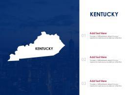 Kentucky Powerpoint Presentation PPT Template
