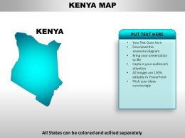 Kenya Country PowerPoint Maps