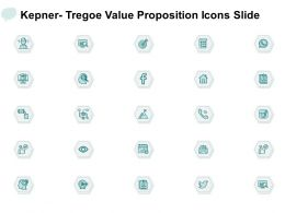 Kepner Tregoe Value Proposition Icons Slide Finance Technology Ppt Powerpoint Presentation