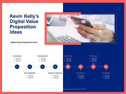 Kevin Kellys Digital Value Proposition Ideas Ppt Powerpoint Presentation Styles Master Slide