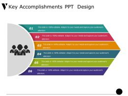 Key Accomplishments Ppt Design