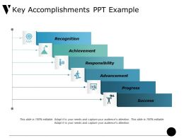 Key Accomplishments Ppt Example