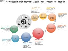 Key Account Management Goals Tools Processes Personal