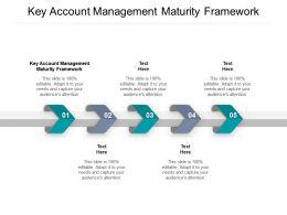 Key Account Management Maturity Framework Ppt Powerpoint Presentation Summary Cpb