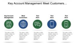 Key Account Management Meet Customers Continue Meeting Customers
