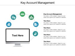 Key Account Management Ppt Powerpoint Presentation Ideas Demonstration Cpb