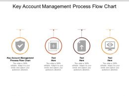 Key Account Management Process Flow Chart Ppt Powerpoint Presentation Layouts Pictures Cpb