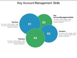 Key Account Management Skills Ppt Powerpoint Presentation Icon Example Cpb