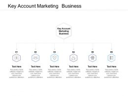 Key Account Marketing Business Ppt Powerpoint Presentation Model Rules Cpb