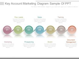 Key Account Marketing Diagram Sample Of Ppt