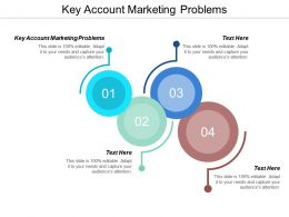 Key Account Marketing Problems Ppt Powerpoint Presentation Infographic Template Cpb