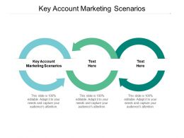 Key Account Marketing Scenarios Ppt Powerpoint Presentation Gallery Templates Cpb