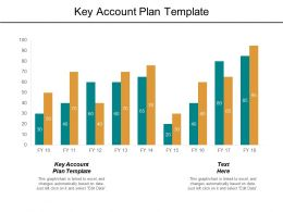 Key Account Plan Template Ppt Powerpoint Presentation File Tips Cpb
