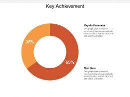Key Achievement Ppt Powerpoint Presentation Gallery Templates Cpb