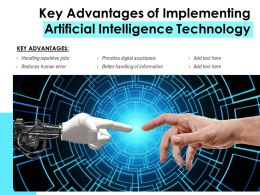 Key Advantages Of Implementing Artificial Intelligence Technology