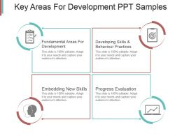 Key Areas For Development Ppt Samples