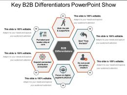Key B2b Differentiators Powerpoint Show