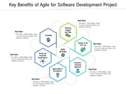 Key Benefits Of Agile For Software Development Project