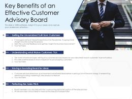 Key Benefits Of An Effective Customer Advisory Board