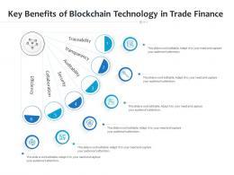 Key Benefits Of Blockchain Technology In Trade Finance