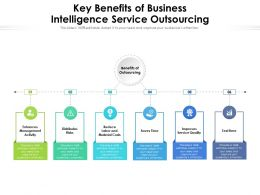 Key Benefits Of Business Intelligence Service Outsourcing