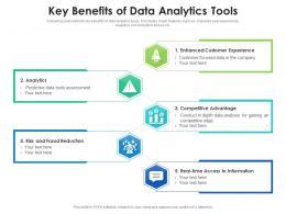 Key Benefits Of Data Analytics Tools
