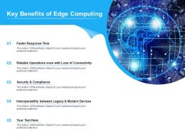 Key Benefits Of Edge Computing