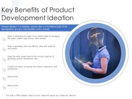 Key Benefits Of Product Development Ideation