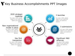 Key Business Accomplishments Ppt Images