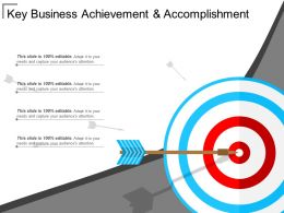 Key Business Achievement And Accomplishment