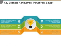 Key Business Achievement Powerpoint Layout