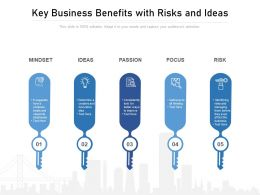 Key Business Benefits With Risks And Ideas