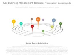 Key Business Management Template Presentation Backgrounds