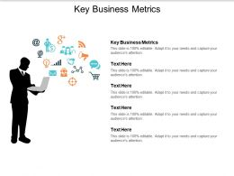 Key Business Metrics Ppt Powerpoint Presentation Infographic Template Graphic Tips Cpb