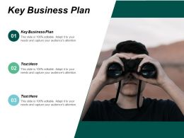 Key Business Plan Ppt Powerpoint Presentation File Samples Cpb