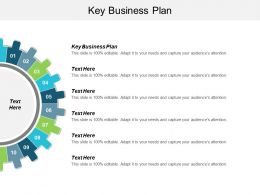 Key Business Plan Ppt Powerpoint Presentation Gallery Aids Cpb