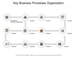 Key Business Processes Organization Ppt Powerpoint Presentation Icon Slide Portrait Cpb