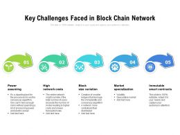 Key Challenges Faced In Block Chain Network