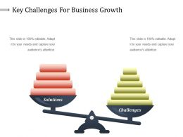 Key Challenges For Business Growth Powerpoint Slide Background Picture