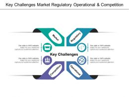 Key Challenges Market Regulatory Operational And Competition