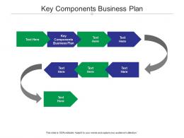 Key Components Business Plan Ppt Powerpoint Presentation Outline Cpb