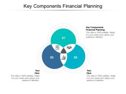 Key Components Financial Planning Ppt Powerpoint Presentation File Example Cpb