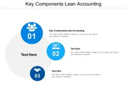 Key Components Lean Accounting Ppt Powerpoint Presentation Styles Introduction Cpb