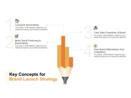 Key Concepts For Brand Launch Strategy