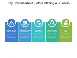 Key Considerations Before Starting A Business