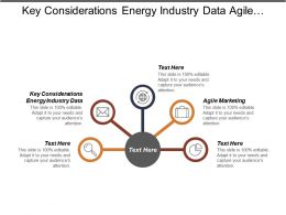 Key Considerations Energy Industry Data Agile Marketing Talent Management Cpb