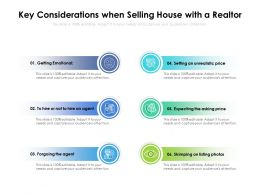 Key Considerations When Selling House With A Realtor