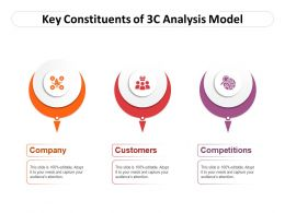 Key Constituents Of 3c Analysis Model
